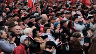 Stock Video Footage of DONETSK anniversary of the socialist revolution
