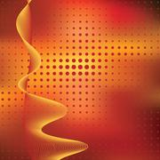 Abstract elegance background with dots Stock Illustration