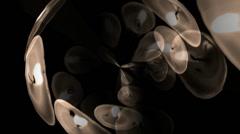 Heart Lights Vortex - stock footage
