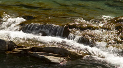 Rocky mountain river rapids Stock Footage