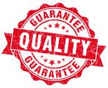 Stock Illustration of quality guarantee grunge stamp