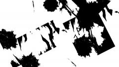Ink spreads Stock Footage