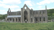 Stock Video Footage of Tintern Abbey-01