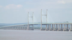 New Severn Crossing 04 Stock Footage