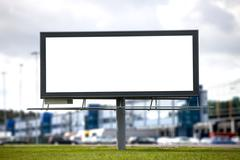 large billboard - stock photo