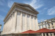 Stock Photo of nimes: maison carree
