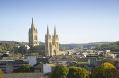 Truro cathedral - stock photo