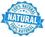 Stock Illustration of natural grunge round blue seal