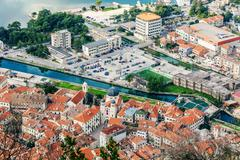 Old town Kotor, Montenegro. Boka kotorska. Stock Photos