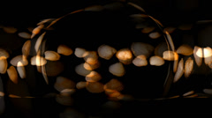 Shell Hearts Circle Stock Footage