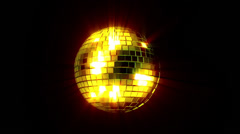 Disco Mirrorball - stock footage