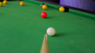 Stock Video Footage of Cue Stick