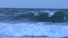 Surfing in Kommetjie, South AFrica. Stock Footage