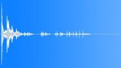 Falling plastic bowl Sound Effect