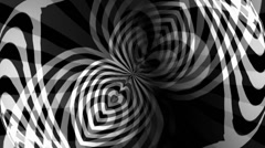 OpArt Hearts Vortex 2 Stock Footage