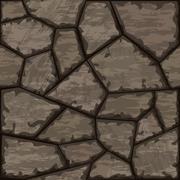 stone seamless pattern - stock illustration