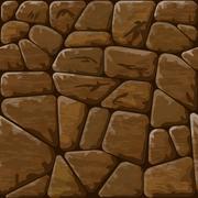 Stone seamless pattern Stock Illustration