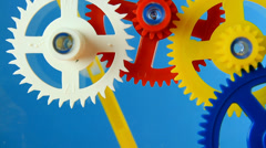ClockWork Spin Stop Stock Footage