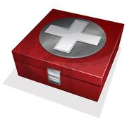 First aid kit box Stock Illustration