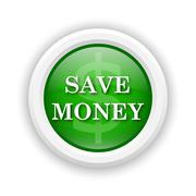 Save money icon Stock Illustration