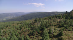 Izery mountians in Poland Stock Footage