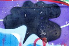 Odessa - march 16: street art by unidentified artist. graffiti management  Stock Photos