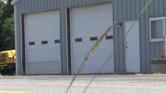 New vehicle garage Stock Footage