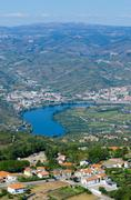 Stock Photo of vineyars in douro valley