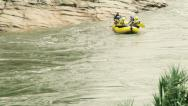 Stock Video Footage of Rafting on calm waters  HD