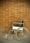 Pyörätuolin sairaalassa Kuvituskuvat