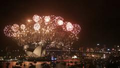 New Years Eve 2013 Sydney-2 Stock Footage