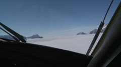 Very rare  Flask Glacier at Larsen Ice Shelf, Antarctica Stock Footage
