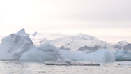 Stock Video Footage of Iceberg rolling over, Antarctica