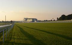 Epsom racecourse. surrey. england Stock Photos