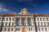 Stock Photo of renovated historic barracks in prague