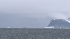 Antarctic winter on the way Stock Footage