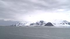 Snowy Islands nr Rothera, Antarctica Stock Footage