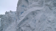 Stock Video Footage of Ice face from below, Antarctica