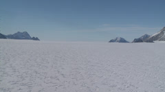 Very Rare: Flask Glacier at Larsen Ice Shelf, Antarctica - stock footage