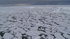Aerials of disappearing Ice Shelves 11, Antarctica Stock Footage