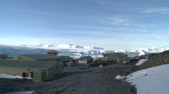 Rothera Base, British Antarctic Survey Stock Footage