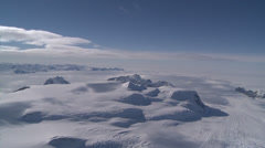 Very Rare: FLeopard Glacier at Larsen Ice Shelf, Antarctica Stock Footage