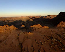 Karoo desert - stock footage