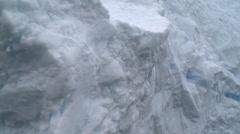 Close up of berg, Antarctica Stock Footage
