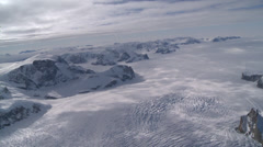 Very rare  Leopard Glacier at Larsen Ice Shelf, Antarctica Stock Footage