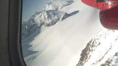 Stock Video Footage of Very Rare:  Flying to the Larsen Ice Shelf, Antarctica