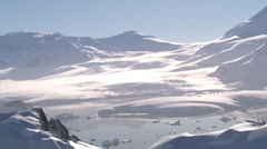 Very Rare: Glaciers at Larsen Ice Shelf, Antarctica Stock Footage