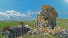 Mountain landscape. 4K. FULL HD, 4096x2304. Stock Footage
