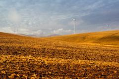 Windmills, Southern Spain Stock Photos