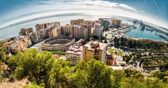Malaga city, Spain Stock Photos